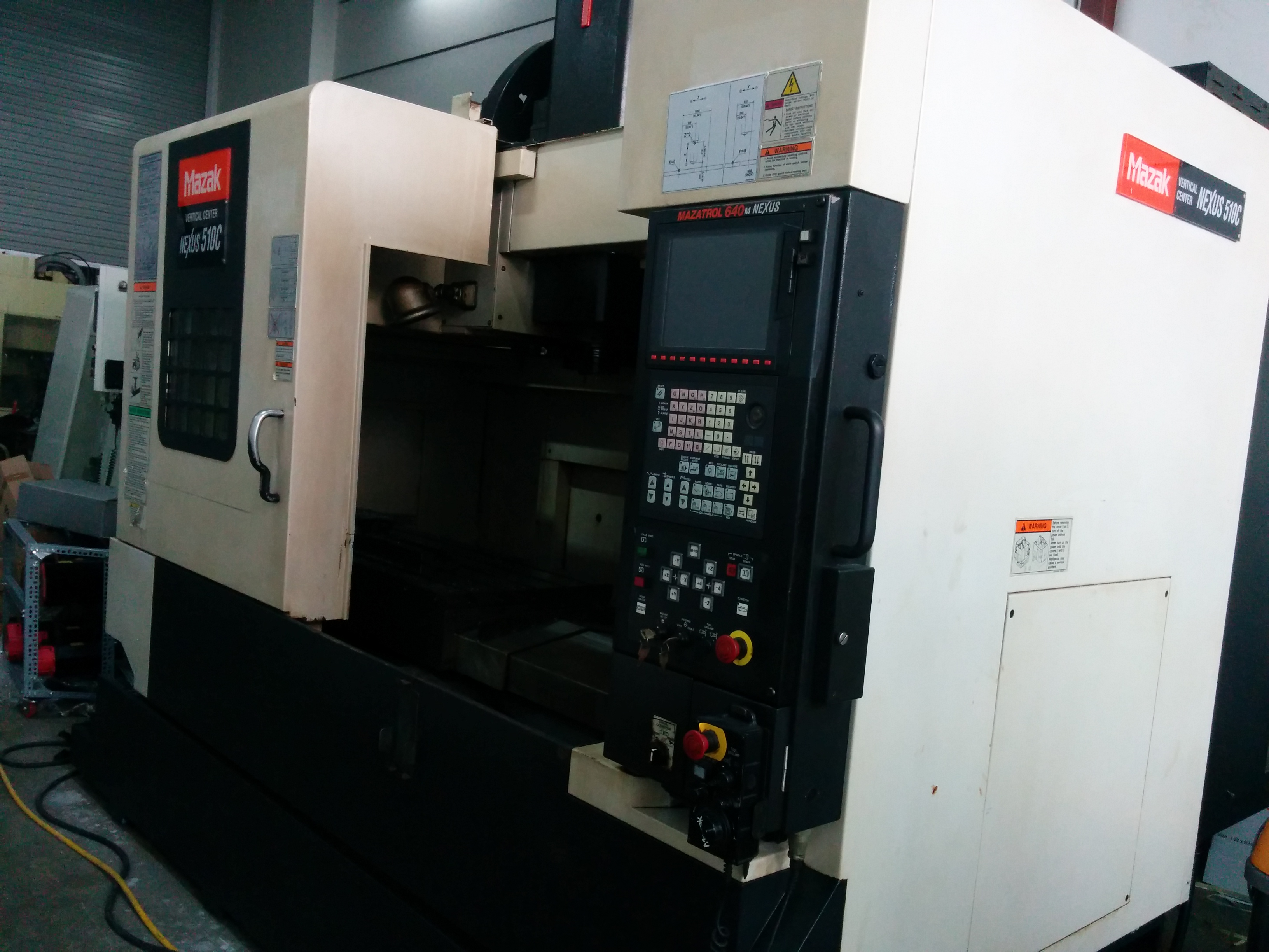 MAZAK – JAPAN MODEL NEXUS 510C | Marvel Machinery