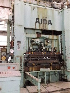 0476 AIDA 400t high speed presses (1)
